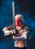 Рыцарь с шпагой Стоковые Изображения RF