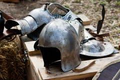 рыцарь шлема Стоковая Фотография RF