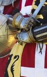 Рыцарь шпаги Стоковые Фото