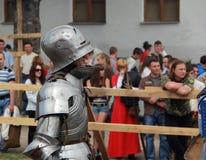 рыцарь Стоковая Фотография