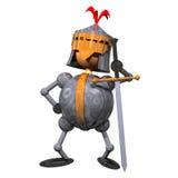 рыцарь clipart Стоковая Фотография