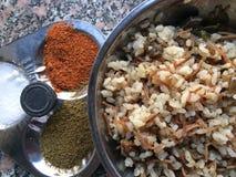 Рычаг риса еда Египет Каир Стоковые Изображения