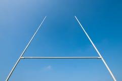 рэгби столба Стоковая Фотография