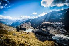 Рэй от горы Стоковая Фотография