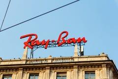 Рэй - Signage запрета стоковое фото