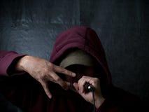 рэппер художника урбанский Стоковая Фотография