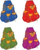 Рюкзаки перемещения Стоковые Фотографии RF