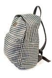 Рюкзак с картиной pepito изолированной на белизне стоковая фотография rf