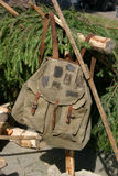 рюкзак s lumberjack Стоковое Изображение RF