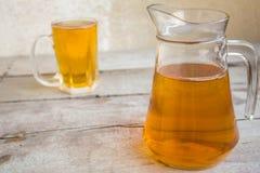 рюмка кружки иллюстрации бутылки пива Стоковые Фото
