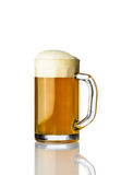рюмка кружки иллюстрации бутылки пива Стоковое Фото