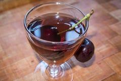 Рябиновка вишни Стоковое Фото