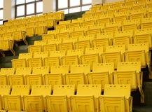 Рядки желтых мест Стоковое Фото