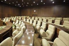 рядки конференц-зала кресел Стоковые Изображения