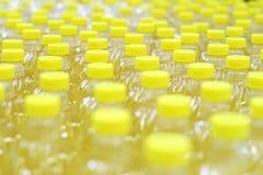 рядки масла бутылок стоковое фото