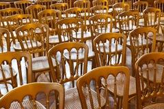 Рядки стулов Стоковое Фото