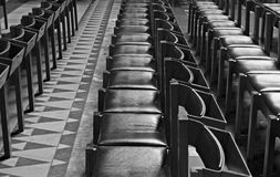 Рядки стулов Стоковое фото RF