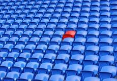 рядки усаживая стадион стоковое фото