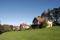 рядок домов Стоковое Фото