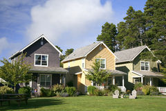 рядок домов Стоковое фото RF