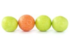 рядок жевательной резины шариков Стоковая Фотография