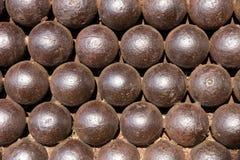рядок карамболя шариков средневековый Стоковые Изображения RF