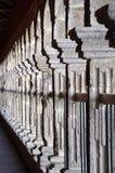 рядок колонок колоннады аркы Стоковая Фотография RF