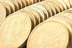 рядок монеток Стоковая Фотография RF