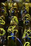 рядок подарков стоковое изображение rf