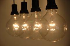 рядок света шарика Стоковое Изображение RF