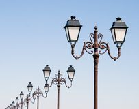 рядок фонариков Стоковые Фото