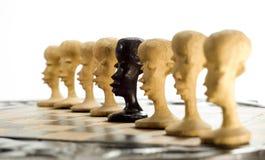 рядок шахмат Стоковые Фото