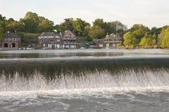 рядок philadelphia дома шлюпки Стоковая Фотография