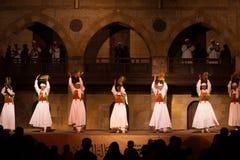 Рядок Tamborines Каир танцора Sufi Стоковое фото RF