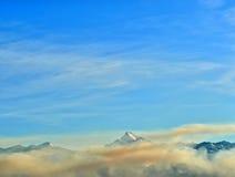 ряд гор Стоковая Фотография