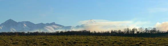 ряд гор Стоковое фото RF