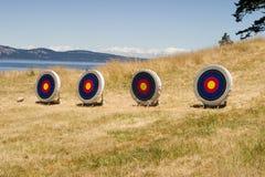 ряд острова archery Стоковая Фотография