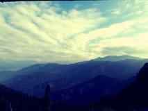 Ряд Himalayn стоковые фото