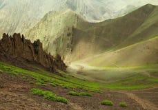 Ряд Ladakh, северное Индия Стоковые Изображения