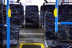 Рядки пустых голубых мест Стоковое Изображение RF