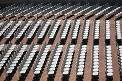 Рядки стулов Стоковые Фото
