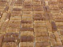 рядки хлеба стоковое изображение rf