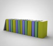 Книги в рядке Стоковая Фотография