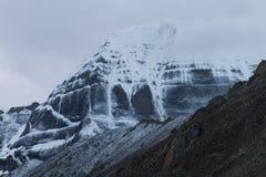 Ряд Тибет Гималаев Mount Kailash Стоковое Изображение