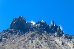 ряд cerro castillo стоковые изображения rf
