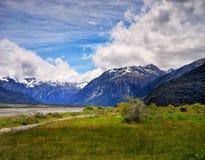Ряд Craigieburn, Новая Зеландия Стоковые Фотографии RF