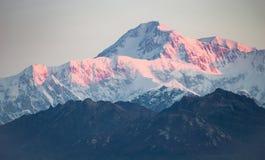 Ряд Mt McKinley Аляска Северная Америка Denali стоковое фото rf