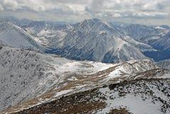 Ряд Sawatch, утесистые горы Колорадо Стоковая Фотография RF