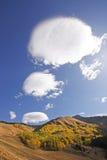 Ряд Sneffels держателя, Колорадо Стоковая Фотография