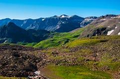Ряд Sneffels скалистых гор Колорадо стоковые фотографии rf